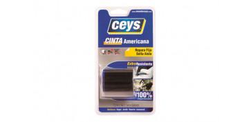 Adhesivos - CINTA AMERICANA TACKCEYS NEGRO 5X50