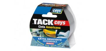CINTA AMERICANA TACKCEYS GRIS 10X50