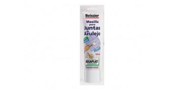 Masillas y siliconas - AGUAPLAST JUNTAS DE AZULEJO TUBO 200 ML