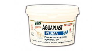 Masillas y siliconas - AGUAPLAST PLUMA EN PASTA 2163-250 ML