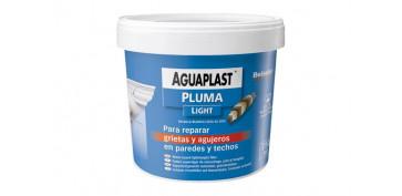 Masillas y siliconas - AGUAPLAST PLUMA EN PASTA 2165-750 ML