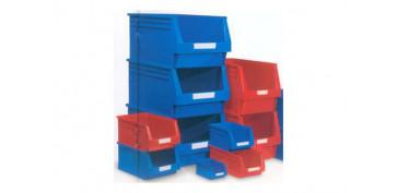 Portaherramientas - GAVETA APILABLE PLASTICO N.55 AZUL 336 X 216 X 200 MM. 10,1 LITROS