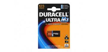 Pilas y baterías - PILA FOTOGRAFIA DURACELL 123 B1 ULTRA M3