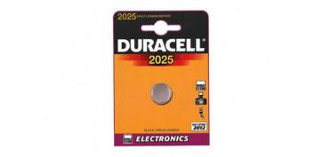 Pilas y baterías - PILA RELOJ/CALCULADORA DURACEL DL 2025