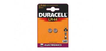 Pilas y baterías - PILA RELOJ/CALCULADORA DURACEL LR 44 B2
