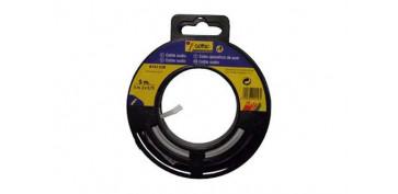 Cables - CABLE AUDIO BLANCO/GRIS 2X0,75 15 M
