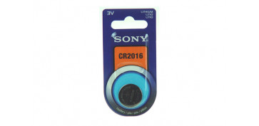 PILA BOTON DE LITIO SONY CR-2016