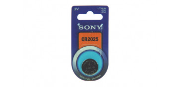 PILA BOTON DE LITIO SONY CR-2025