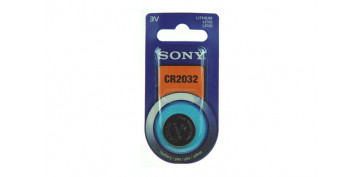 PILA BOTON DE LITIO SONY CR-2032