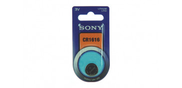PILA BOTON DE LITIO SONY CR-1616