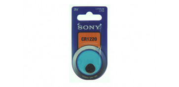 PILA BOTON DE LITIO SONY CR-1220
