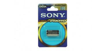 Pilas y baterías - PILA LITIO FOTOGRAFIA SONY CR-123