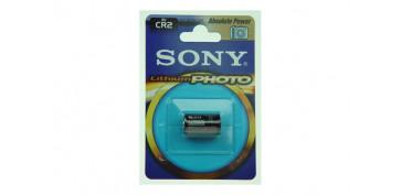 Pilas y baterías - PILA LITIO FOTOGRAFIA SONY CR2B1A