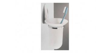 Accesorios para el baño - PORTACEPILLO SEPPIA CROMO M18641-40