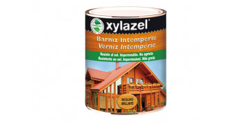 Proteccion y tratamiento para madera - BARNIZ INTEMPERIE INCOLORO 750 ML BRILLANTE