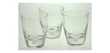 VASO LIBRA (PACK 3U) ROCKS 26 CL
