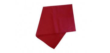 Textil y costura - MANTEL LISO 160X200 ARAMIS COLOR VINO