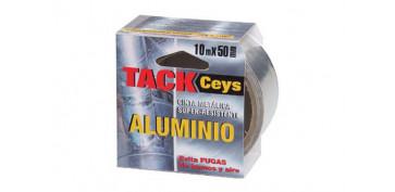 Adhesivos - CINTA ALUMINIO TACKCEYS 10 M X 50 MM