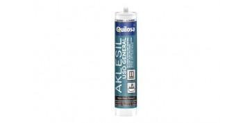 Masillas y siliconas - SILICONA AKLESIL 280 ML-TRANSLUCIDO