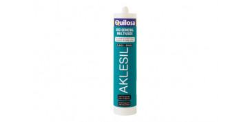 Masillas y siliconas - SILICONA AKLESIL 280 ML-BLANCO