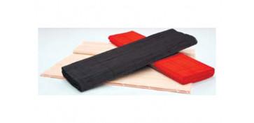 Textil y costura - CAMINO MESA BAMBU 150X45 ROJO