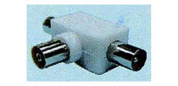 Instalación imagen, sonido y telefonía - DERIVACION TV Ø 9,5MM 1 HEMBRA-2 MACHOS