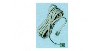 Instalación imagen, sonido y telefonía - PROLONGACION 4,5M CABLE TELEFONO BLANCO MACHO/MACHO