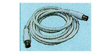 Instalación imagen, sonido y telefonía - PROLONGACION TV 2,5 M RECTO BLANCA MACHO/HEMBRA
