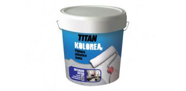 Pintura para paredes, techos y suelo - PINTURA PLASTICA MATE DECOR INTERIOR 1KG