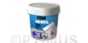 Pintura para paredes, techos y suelo - PINTURA PLASTICA MATE DECOR INTERIOR 5KG