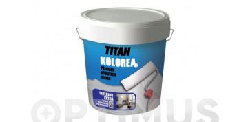 Pintura para paredes, techos y suelo - PINTURA PLASTICA EXTERIOR MATE DECOR FACHADA 20KG