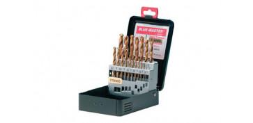 Juegos y kits para herramientas - ESTUCHE 25 BROCAS HSS-TITANIO 1-13MM
