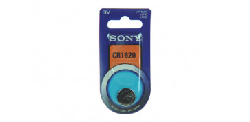 PILA BOTON DE LITIO SONY CR-1620