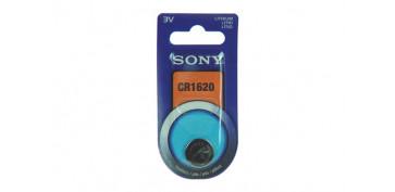 Pilas y baterías - PILA BOTON DE LITIO SONY CR-1620