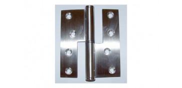 Alambre, muelles y sirgas - PERNIO INOX C/RECTO 426/819 100X86X3 DER