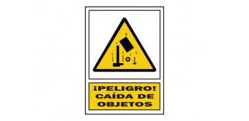 SEÑAL CAIDA OBJETOS PVC 322 PLA-CAST