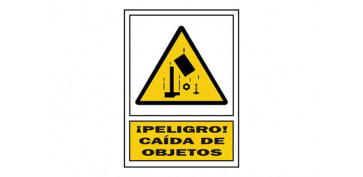 SEÑAL CAIDA OBJETOS PVC 322 PLA-CAT