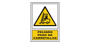 Señalizacion - SEÑAL PASO CARRETILLA PVC 336 PLA-CAT