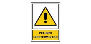 SEÑAL PELIGRO INDETERMIN PVC 301 PLA-CAT
