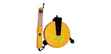 Iluminacion industrial - LAMPARA TALLER + ENROLLADOR ELECTRICO