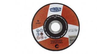DISCO CORTE INOX BASIC 115X1X22 PLANO