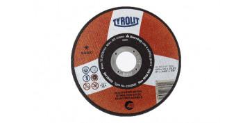 Discos - DISCO CORTE INOX BASIC 125X1X22 PLANO