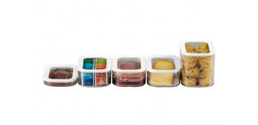 Ordenacion y conservacion de cocina - FIAMBRERA MODULATRIPLE 550 ML BLANCA