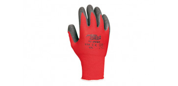 Guantes - GUANTE FEEL AND GRIP T.8 ROJO