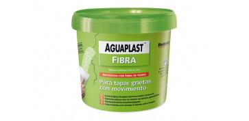 Masillas y siliconas - AGUAPLAST FIBRA TARRO 750 ML