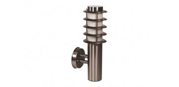 Iluminacion vivienda - BALIZA FAROL ACERO INOX 18/0 60W ART-1411