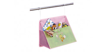 Mobiliario interior - COLGADOR BIG POCKET 50X40X25CM ROSA
