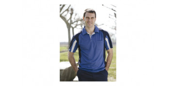 POLO COOLWAY TOP RANGE T.XL AZUL / NEGRO
