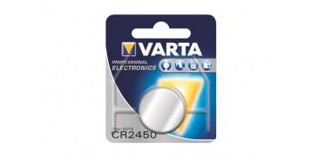 Pilas y baterías - PILA LITIO BOTON BLX1 CR2450 3V