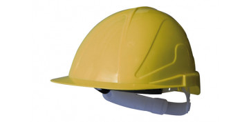 Proteccion de la cabeza - CASCO OBRA ABS CON REGULACION TXR-AMARILLO FLUOR